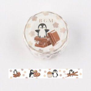 BGM Penguin & Chocolate Washi