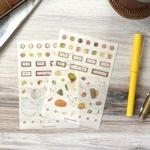 """Baum-kuchen Planner Sticker """"Analogue Cafe"""""""