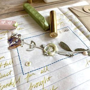Baum-Kuchen Wax Seals / MINI Paperboat