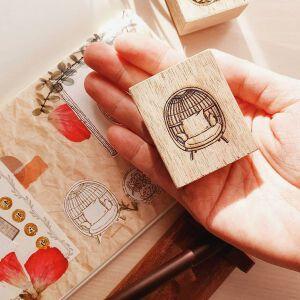 Rattan Series Stamp #1 – By Elsiewithlove