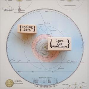 Love For Analogue / Analog Life Stamp