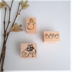 Krimgen Stamp #80 Polar Bear And #88 And #90 – Snowfairies