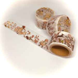 Krimgen ANIMALS Washi