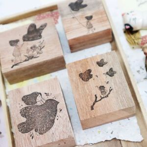 Blackmilk Project Stamps – BIRD Collection