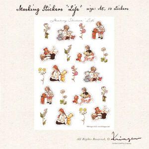 Krimgen LIFE Stickersheet