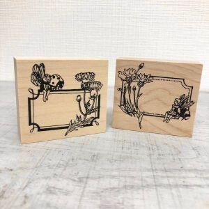 Krimgen Stamp #76 And #77 – Bumblebee & Ladybug