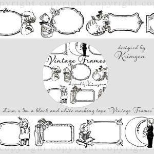 Krimgen 'Vintage Frames' Washi