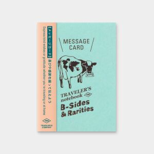 Traveler's LTD Edition – Passport Refill Message Card – Preorder