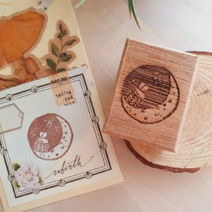 Moon Series – Moon2 Stamp By Elsiewithlove