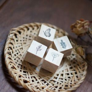 Blackmilk Project Stamp – Secret Garden (miniset)