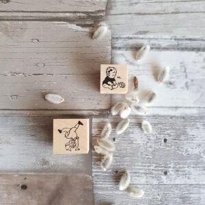 Krimgen Stamps –  Hi Baby Hedgehog & Summersault