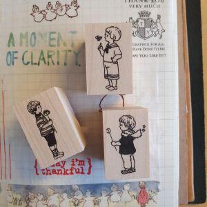 Krimgen Stamps Boys – 3 Older Stamps