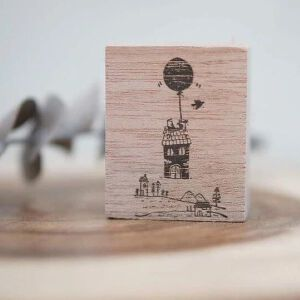 Blackmilk Project Stamp – Floating House