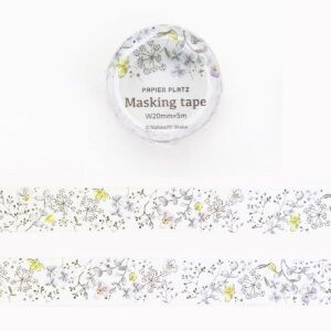 Papierplatz Washi – Pale Flower By Nakauchi Waka