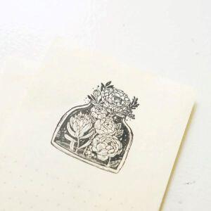 Blackmilk Project Stamp – Jar Of Bloom