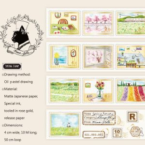Miao Stelle – Spring Stamp