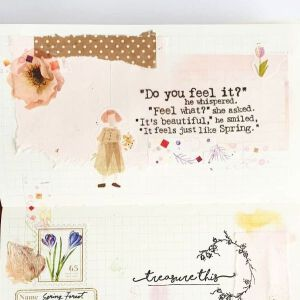 Springquote 'Do You Feel It …?' – Stamp