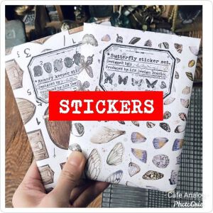 LCN Washi Stickersets – Memory Keeper & Butterfly – Preorder
