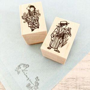 Krimgen Stamp #99 & #100 – 'Taisho Couple'