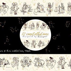 """Krimgen '12 Constellations""""- Washi"""