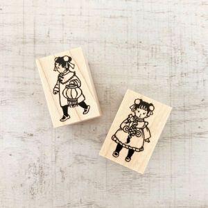 Krimgen Stamps – #102 & #103 Chinese Girls