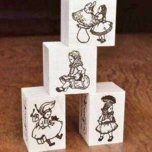 Krimgen Stamps – Alice In Wonderland Series