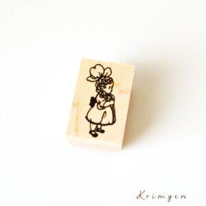 Krimgen Stamp – #13 Flower Girl