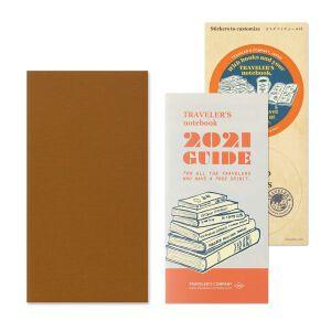 TRAVELER'S Notebook 2nd Half 2021 – Weekly Vertical Diary