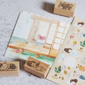 BlackMilk Project – Engawa Set Diy Postcards