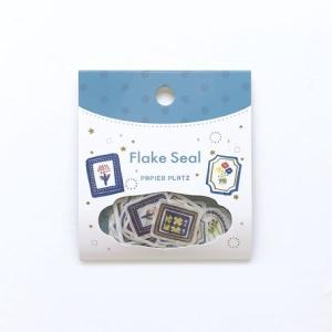 Sticker Flakes / Papierplatz – Flowers 1