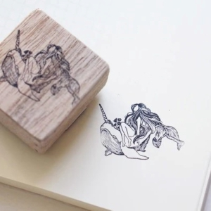 Blackmilk Project Stamp – Narwhal