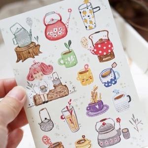 BlackMilk Project NEW Stickers : Teatime