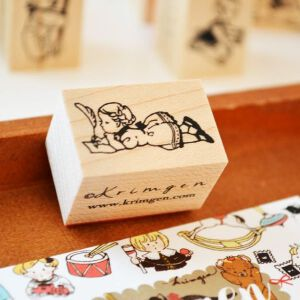 Krimgen Stamp – Girl Writing Letter