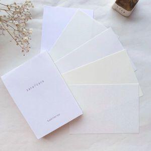 Kamiterior Touch Memo Paperpad – Zara/zara (whites)