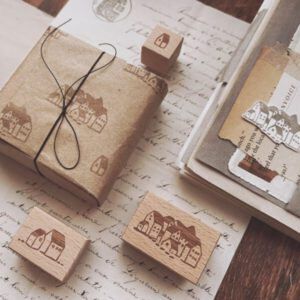 Penny Fei – Houses Stampset