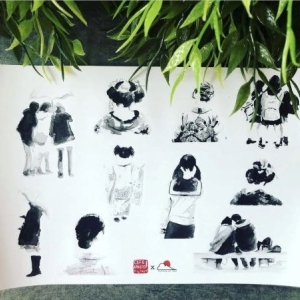 Janko Meisel – LIMITED Stickersheet – Japanese Life