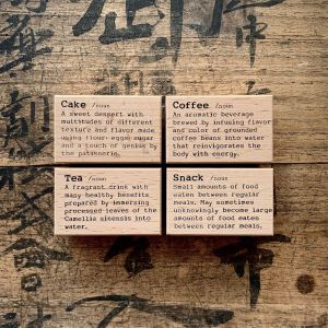 Preorder – Liberty DictionaryStamps – Cake, Coffee … (NEW)
