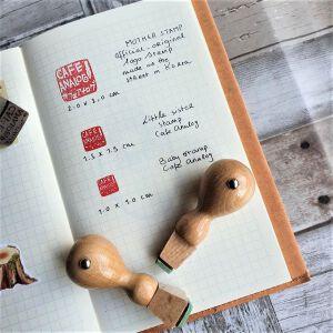 Cafe Analog Logo Stamps – Mini