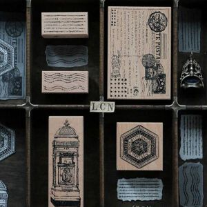 LCN Design – Postage Rubber Stampsets – PREORDER