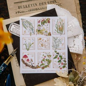 OURS Stamp Stickers – Wild Wreath 2