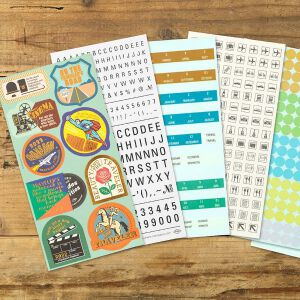 2022 Diary Customized Sticker Set