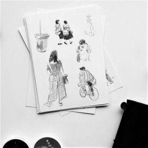Stickerset Janko Meisel – Japanese Life