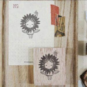 Blackmilk Project Stamp – Limited Stamp – SUNFLOWER