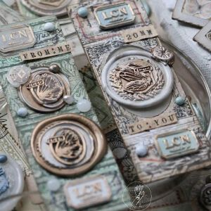 LCN Design – Wax Seal Stampsets – To You  / From Me – Preorder
