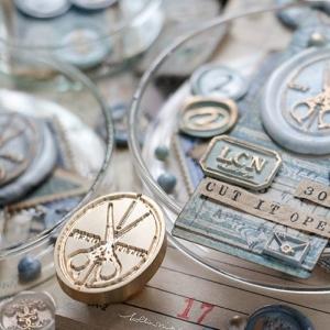 LCN Design – Wax Seal Stamp Set –  Cut It Open! & Stationery