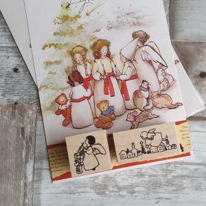 Krimgen Stamps – Christmas Night #129
