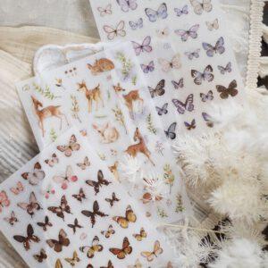 LOI Design – Transfer Stickers 'Deer & Butterfly'