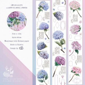 LOI Design – 'Yaohua' (Hydrangea) Washitape