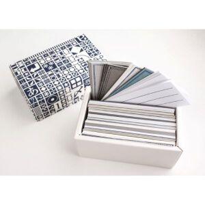 Yamazoe Letter Press Box – Message Card