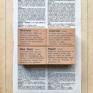 Liberty DictionaryStamps – Paper, Journal, Waxseal, Sticker (NEW)